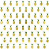 Sample seamless pineapple fruits  background. Stock Photos
