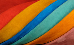 Sample skins of various colors Royalty Free Stock Photography