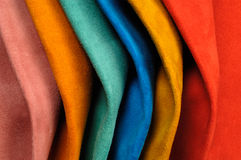 Sample skins of various colors Stock Images