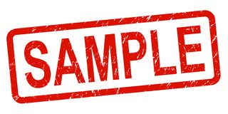 Free Sample Stamp Royalty Free Stock Photos - 123951468