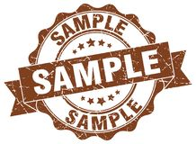 Sample stamp Royalty Free Stock Images