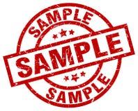 Sample stamp Royalty Free Stock Photos
