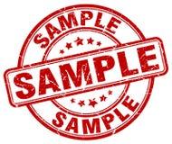 Sample stamp Stock Photos