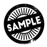Sample stamp rubber grunge Royalty Free Stock Photography