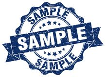 Sample stamp. sign. seal Royalty Free Stock Photos