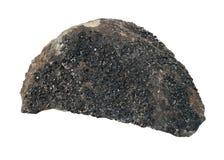 Stone-mineral Granat (andradite) Stock Photo