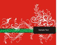 Sample Text. A Sample Text vector Frame Royalty Free Stock Photo