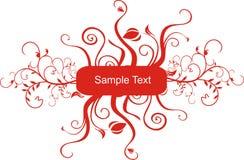 Sample Text. A Sample Text vector Frame stock illustration
