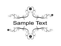 Sample Text Stock Photography