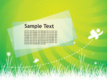 Sample text Stock Image