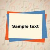 Sample text Stock Photo