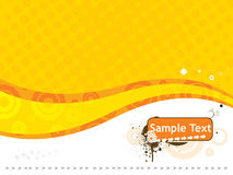 Sample text vector illustration isolated on white Royalty Free Stock Photos