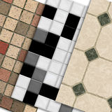 Sample tiles Stock Photography