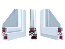 The sample window Royalty Free Stock Image