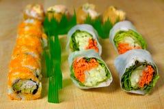 Sampler. Sushi Sampler Royalty Free Stock Photos
