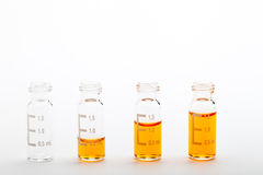 Samples for analysis Stock Photography