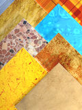 Samples of ceramic tiles Stock Photo