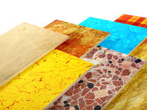 Samples of ceramic tiles Royalty Free Stock Photo