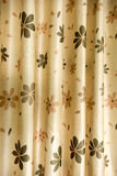 Samples of classic curtains stock photo