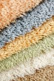 Samples of collection carpet Royalty Free Stock Photos