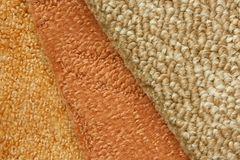 Samples of collection carpet Royalty Free Stock Photography