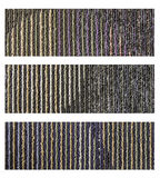 Samples of collection carpet on a white. Background Stock Images