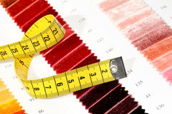 Samples of color and measure Royalty Free Stock Photos