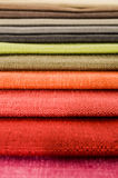Samples of colored cloth Royalty Free Stock Photography