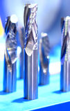 Samples of end mill tool Royalty Free Stock Photo