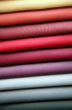 Samples of a fabric Royalty Free Stock Photo