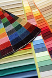 Samples of a fabric Royalty Free Stock Image
