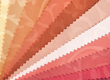 Samples of fabric for upholstery Royalty Free Stock Images