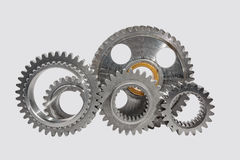 Samples of gears Royalty Free Stock Image