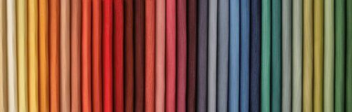 Samples Of Fabric Stock Image