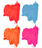 Samples of paints Royalty Free Stock Image