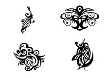 Samples tatoo images Royalty Free Stock Photo