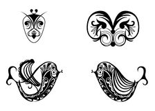 Samples tattoo images Stock Image