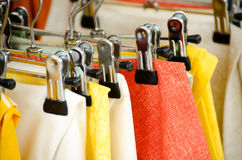 Samples of textile Stock Images
