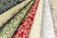 Samples of textiles Royalty Free Stock Photo