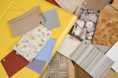 Samples of various texture. Royalty Free Stock Image