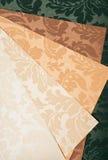 Samples of Wallpaper Royalty Free Stock Photo