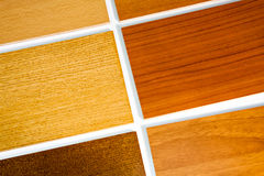 Samples of wood Stock Photo