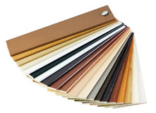 Samples of the wooden cover Stock Image