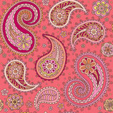 Sampless red cucumbers pattern Royalty Free Stock Photos