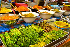 Sampling of Indian Dishes Royalty Free Stock Images