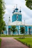 Sampsonievsky domkyrka i St Petersburg Royaltyfri Bild