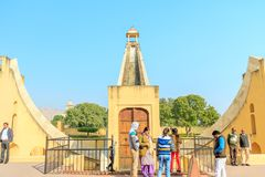 Samrat Yantra στο Jaipur Στοκ φωτογραφία με δικαίωμα ελεύθερης χρήσης
