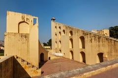 Samrat Yantra - Giant Sundial in Jantar Mantar - ancient observ Stock Photos