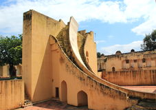 Samrat Yantra (Jaipur). στοκ εικόνα με δικαίωμα ελεύθερης χρήσης