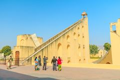 Samrat Yantra in Jaipur Lizenzfreie Stockfotos